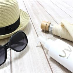 日焼け防止対策アイテム